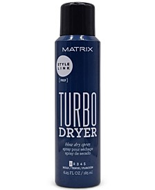 Style Link Turbo Dryer Blow Dry Spray, 6.25-oz., from PUREBEAUTY Salon & Spa