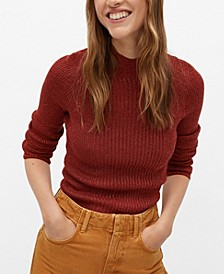 Women's Glitter Detail Sweater