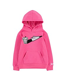 Toddler Girls Pull-Over Hoodie