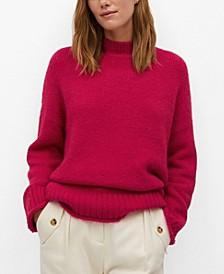 Women's Textured Knit Sweater