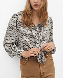 Women's Lace Flowy Blouse