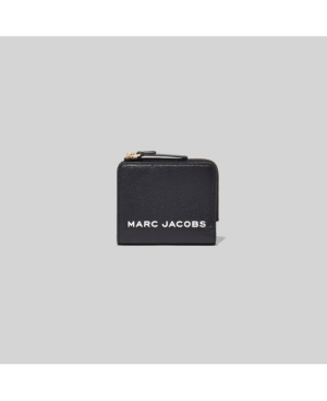 Marc Jacobs MINI COMPACT LEATHER ZIP WALLET