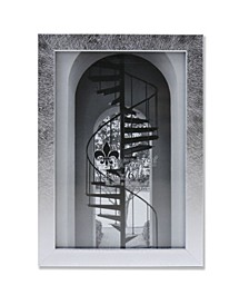 """Burnished Picture Frame - Chloe Collection, 4"""" x 6"""""""