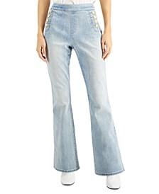 INC Flare-Leg Sailor Jeans, Created for Macy's