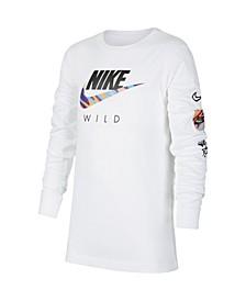 Big Boys Sportswear Long-Sleeve T-shirt