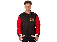 Chicago Blackhawks Men's Poly-Twill 2 Color Jacket