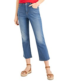 Kick-Flare Cropped Jeans, Created for Macy's