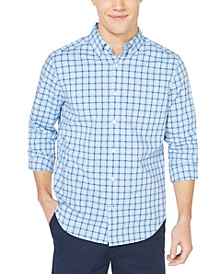 Men's NavTech Plaid Shirt