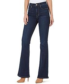 High-Rise Flare-Leg Jeans