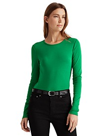 Slim-Fit Long-Sleeve Top