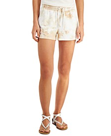 Tie-Dyed Drawstring Shorts, Created for Macy's