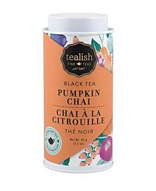 Pumpkin Chai Caffeinated Loose Leaf Tea