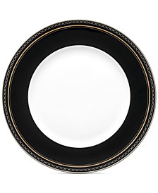 Vera Wang Dinnerware, With Love Noir Dinner Plate