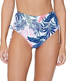 Juniors' Not So Bora Bora Printed Bikini Bottom