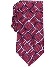 Men's Macone Classic Tile Neat Tie