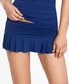 Beach Club Ruffled Swim Skirt