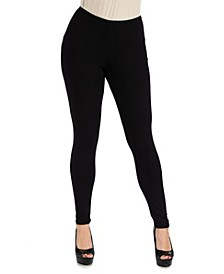 Women's Plus Size Stretch Ankle Length Leggings