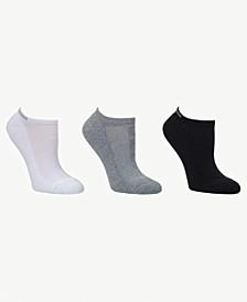 Women's Logo in Mesh 3pk Low Cut Socks