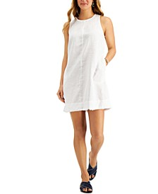 Fringe-Hem Dress, Created for Macy's