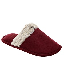 Isotoner Women's Microterry Spa Clog Slippers