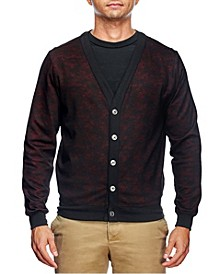 Men's Slim Fit Cardigan and a Free Face Mask