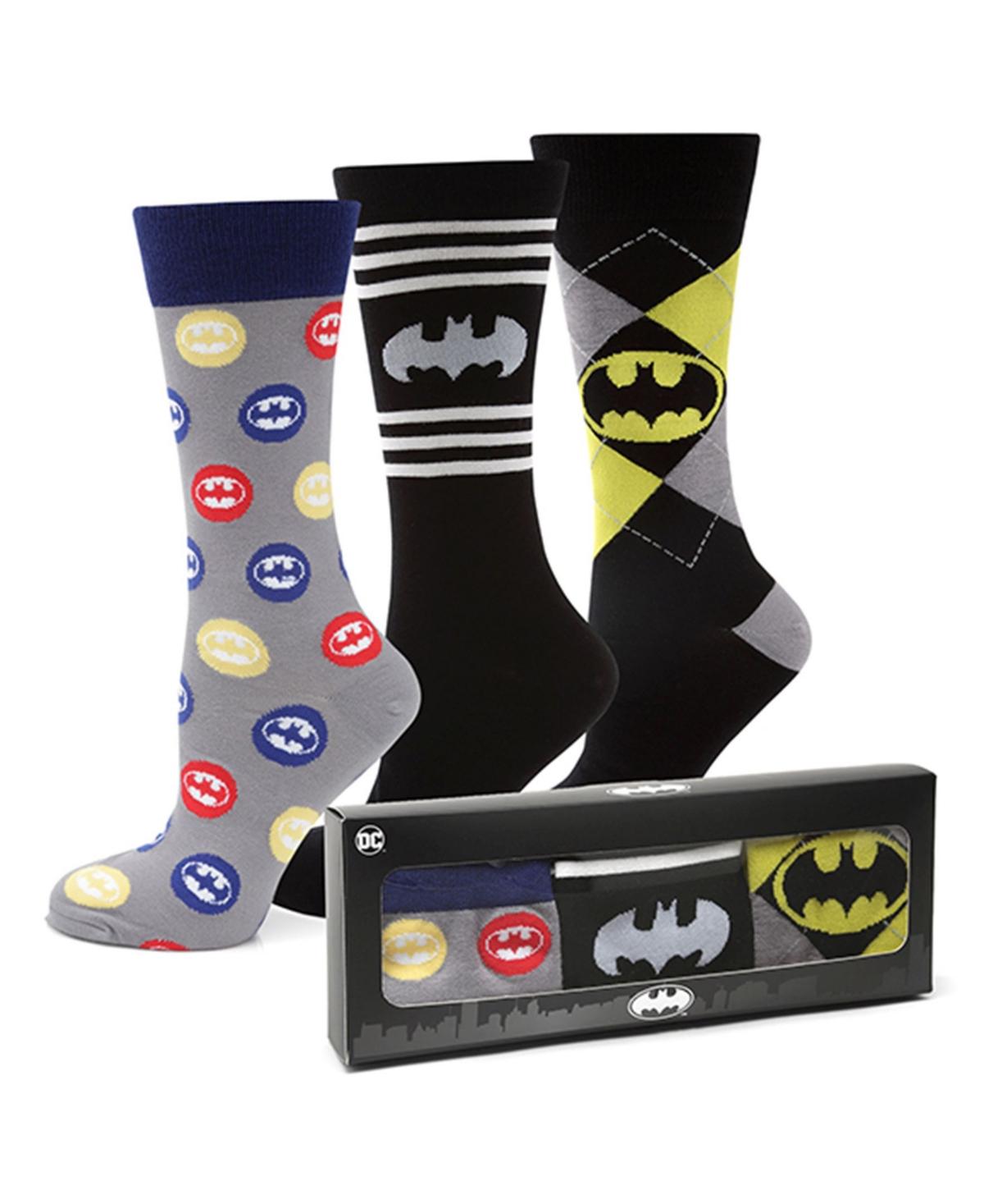 Men's Batman Sock Gift Set, Pack of 3