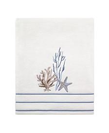 Abstract Coastal Bath Towel