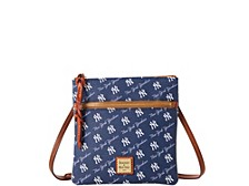 Dooney & Bourke New York Yankees League Collection Double-Zip Crossbody