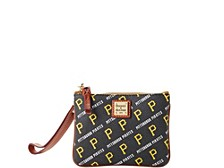 Dooney & Bourke Pittsburgh Pirates League Collection Stadium Wristlet