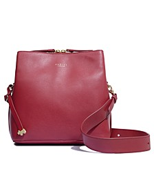 Dukes Place Medium Smooth Leather Compartment Crossbody