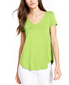 V-Neck Knit Top, Created for Macy's