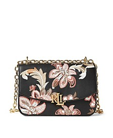Madison Embroidered Leather Crossbody