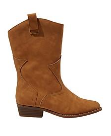 Little Girls Mid Western Boots