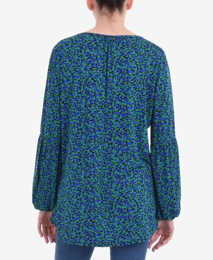 Live Unlimited Women's Ditsy Jersey Shirt & Reviews - Tops - Women - Macy's