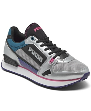 Puma WOMEN'S MILE RIDER CASUAL SNEAKERS FROM FINISH LINE