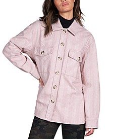 The Shacket Cotton Shirt Jacket