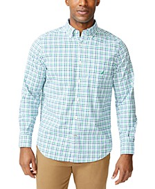 Men's Plaid Poplin Shirt