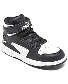 Toddler Boys Rebound LayUp Mid Casual Sneakers from Finish Line