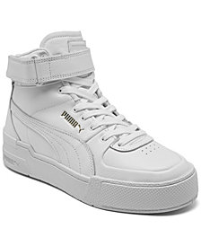 Puma Women's Cali Sport High Top Warm Up Stay-Put Closure Casual Sneakers from Finish Line