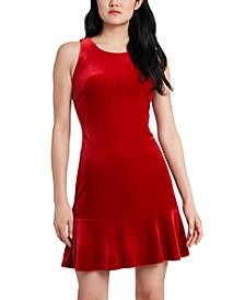 Francesca Velvet Knit Dress, Created for Macy's