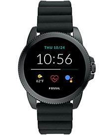 Men's Gen 5E Smartwatch Black Silicone 44mm
