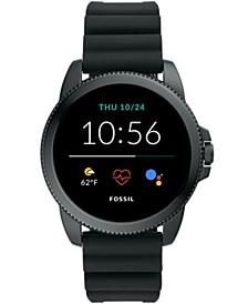 Men's Gen 5E Smartwatch Black Silicone 44mm