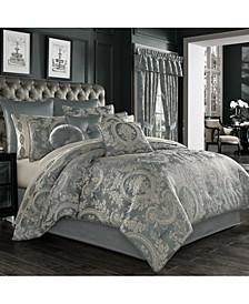 Nicolette 4 Piece Comforter Set, Queen