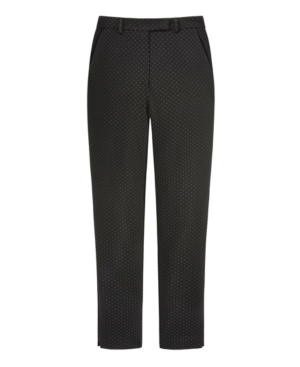 Women's Jacquard Pant with Belt Loops