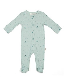 Rabbit + Bear 100% Organic Cotton Coverall with Zipper front