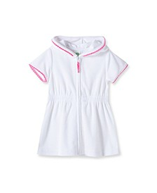 Baby Girls Zipper Front Cover Up