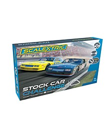 Stock Car Challenge 1:32 Race Track Slot Car Set
