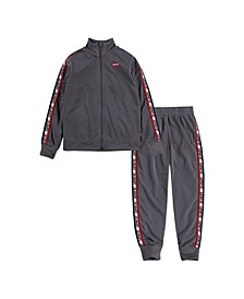 Little Boys Taping 2 Piece Tracksuit Set