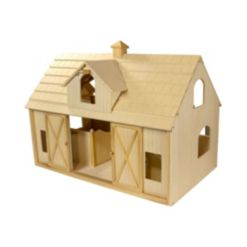 Breyer Kids Traditional Deluxe Horse Barn with Cupola Toy Model