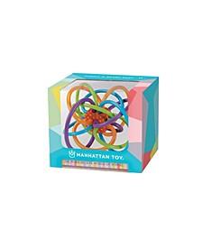 Manhattan Toy Company Winkel Rattle and Teether + The Make Believe World of Winkel Board Book